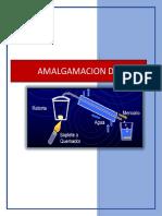 Trabajo de Hidrometalurgia Amalgamacion