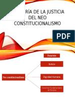 La Teoría de La Justicia Del Neo Constitucionalismo