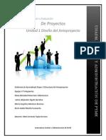 FORMULACION Y EVALUCION DE PROYECTOSGFEP_U3_EA_XXXX