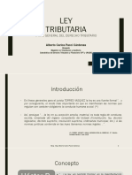 La Ley Tributaria