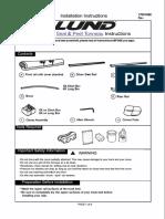 Lund 99082 Installation Instructions
