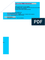 FMEA Analysis Maintenance