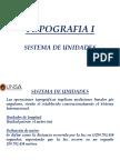 Topografía i Unidad 1 2 Sistema de Unidades