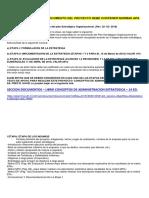 Consideraciones Para La Elaboracion Del Plan Estrategico Organizacional-2018-1