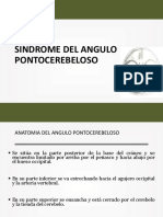 Sindrome Del Angulo Pontocerebeloso