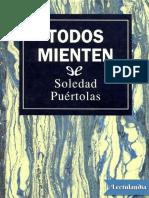 Todos Mienten - Soledad Puertolas