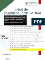 Tubo Conduit de Polietileno Artículo 364