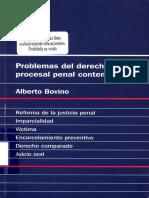 BOVINO Problemas Derecho Procesal Contemporaneo