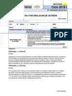 Ef -A- Final 1703-17508 Simulación de Sistemas Tipo 2018 2junio