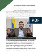 """""""Nunca Antes Habían Atacado Una Misión Humanitaria"""" Defensor Del Pueblo"""