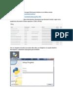 Python y PyScripter (Instalación en Windows)