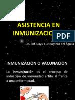 Asistencia en Inmunizaciones