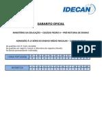 EMR Diurno Gabarito Oficial