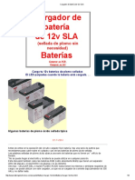 Cargador de Batería de 12v SLA