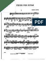 Tres Piezas para Guitarra - Carlos Chávez.pdf