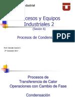 P y E I-2 Sesión 6 Procesos de Condensación