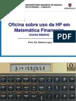 Oficina Sobre Uso Da HP 2017.2