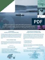 Canadian Society for Circumpolar Health Postcard