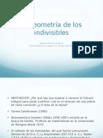 LaGeometriade Los Indivisibles