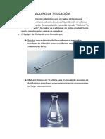 Quimica Equipo de Titulacion