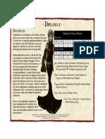 Diplomat[Fan Wfrp2]