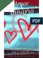 Amor Binario - José Manuel Aguilar
