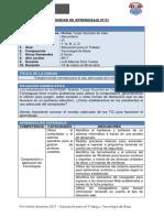 Unidad de Aprendizaje N° 01 - 1° Grado.docx