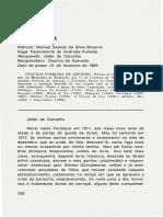 ACL Falas Academicas 41 CADEIRA N 26 Recipiendo Jader de Carvalho