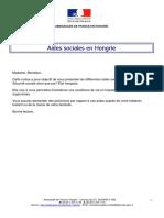 Aides Sociales Hongroises