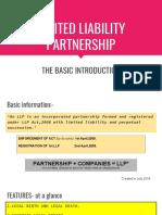 Limited Liability Partnership- By Muskan Mehta