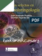 Temas Selectos en Otorrinolaringologia