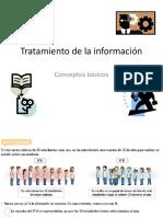 PPT N°1 Tratamiento de la información