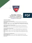 USTA National 2011 Tournaments