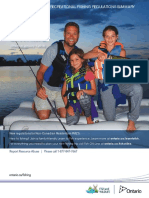 2018 Ontario Fishing Regulations Summary English