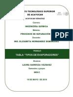 TABLA EVAPORADORES.docx