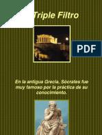 El Triple Filtro Socrates