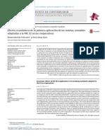Efectos Económicos de La Primera Aplicación de Las Normas Contables Adaptadas a La NIC32 en Las Cooperativas