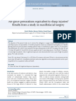 Are glove perforations equivalent to sharp injuries.pdf