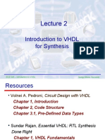 Lecture2 VHDL for Synthesis[1]