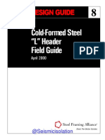 AISI Design Guide 8 Cold Formed