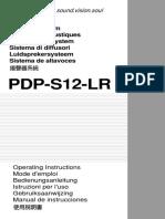 Pioneer PDP-S12-LR Manual