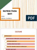 3. Nutrisi Pada Bayi