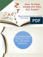 H31-411 HCNA-LTE exam Dumps