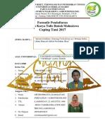 Form Pendaftaran Lktim Capingtani 17