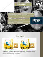 Forklift Presentasi