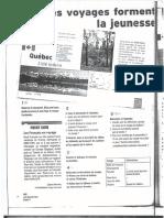 French worksheet niveau B1