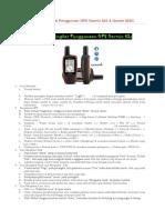 Review Tutorial Singkat Penggunaan GPS Garmin 62S.docx
