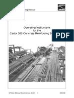 Cador 300 - Manual de Operacion