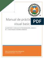 Manual de Prácticas de Visual Basic Unidad 4