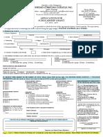 Lvcc Scholarship Application Form 2018